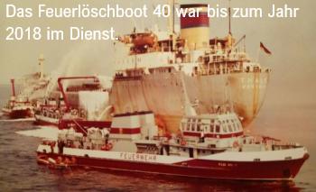 FLF 40 von der Berufsfeuerwehr Rostock
