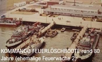 Kommando Feuerlöschboote Feuerwehr Rostock