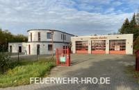 Gerätehaus von der Freiwilligen Feuerwehr Rostocker Heide