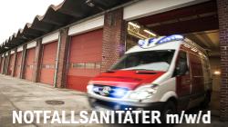 Ausbildung zum Notfallsanitäter m/w/d bei der Berufsfeuerwehr Rostock