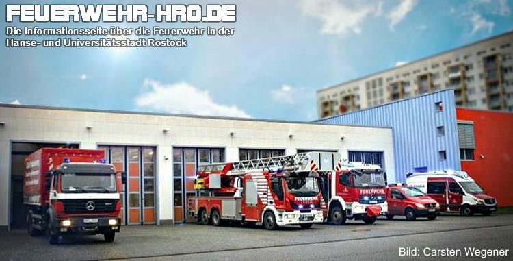 Feuerwache 2 Berufsfeuerwehr Rostock - Lütten Klein